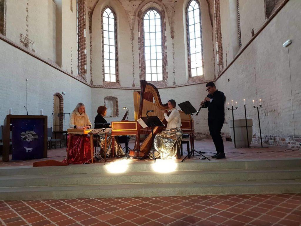 Tartu Jaani Kirik, solist Riivo Kallasmaa (oboe), 2019