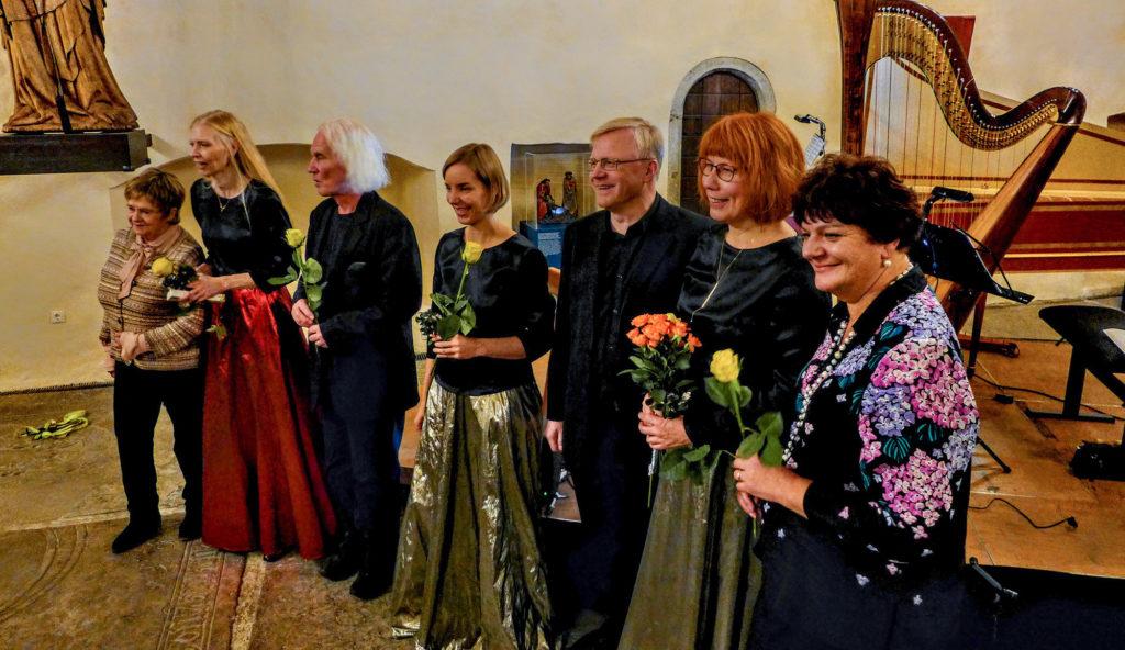 Niguliste kirik, Antoniuse kabel 16.11.2019 koos Galina Grigorjeva, Pekka Jalkaneni, Andrus Kallastu ja Leelo Tunglaga